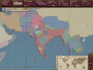 «Виктория 2». Политическая карта Индии