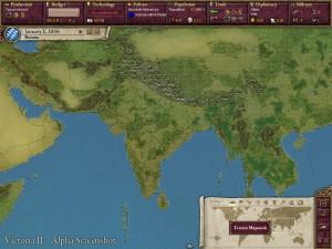 «Виктория 2». Физическая карта Индии