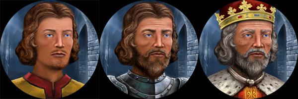 Crusaders Kings 2. Портреты персонажей