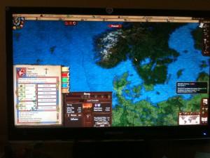 Magna Mundi. Дания (скрин монитора)