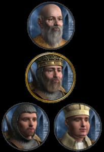 Crusader Kings II. Линия наследования
