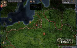 Crusader Kings II. Оккупация территории