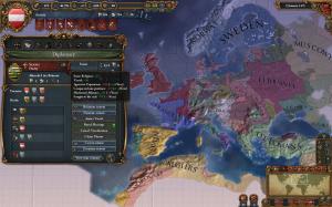 EU4. Окно дипломатии