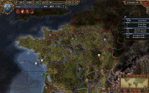 EU4. Франция в 1444