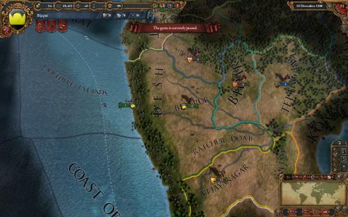 EU. Индия в 1508